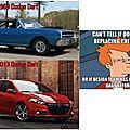 Humour automobile sur internet, la dodge dart