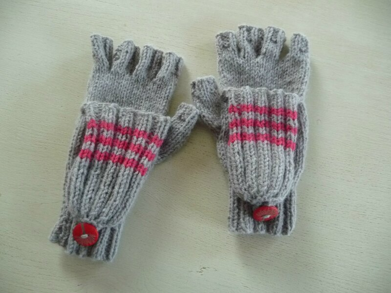 comment tricoter mitaines avec doigts