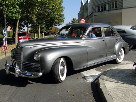 PACKARD Clipper Super Eight 4door Sedan 1941 A la Recherche des Autos Perdues Guermantes 2009 4