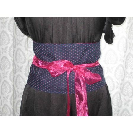 ceinture-obi-bleue-marine-et-rose