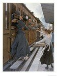 10086020_German_Troops_Return_to_the_Front_Kissed_and_Waved_Goodbye_from_Their_Womenfolk_Affiches