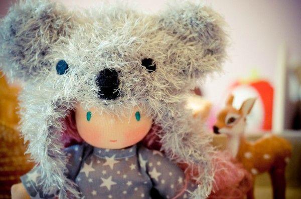 Poupée koala-6
