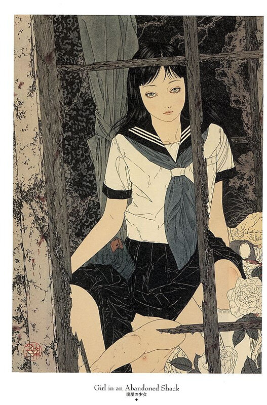 CanalBlog Artbook Takato Yamamoto Divertimento For A Martyr009