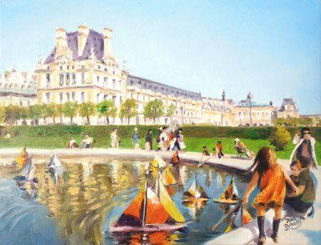 La fillette des Tuileries