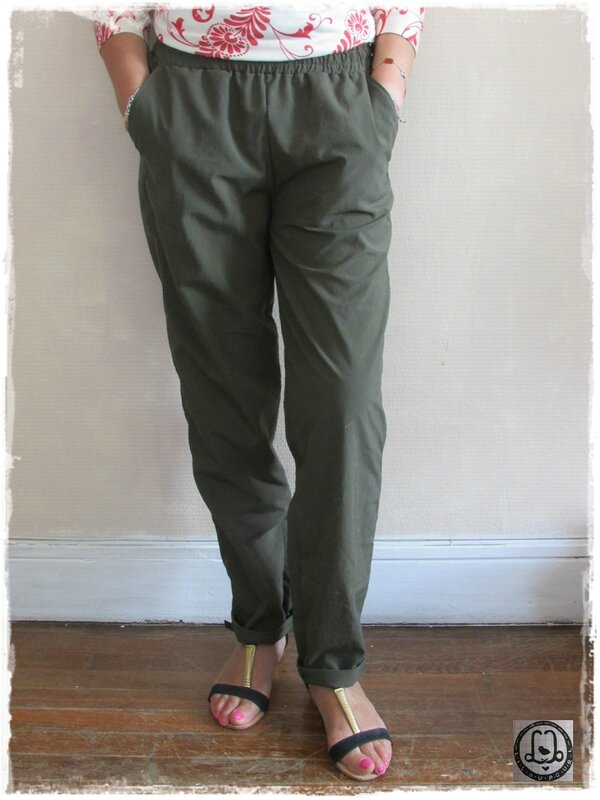 Lilou pour L-Pantalon Sunny