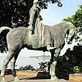 Statue du roi Léopold, Kinshasa-Rdc