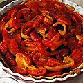 Tarte aux tomates, poivron, chèvre et chorizo