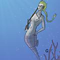 Character desing challenge : merdmaids and mermen