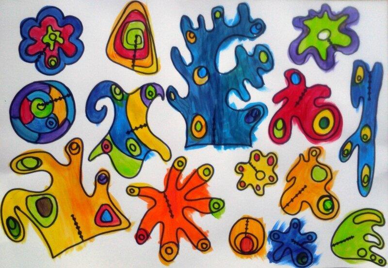 173_Compositions abstraites_Sculptures de papier06