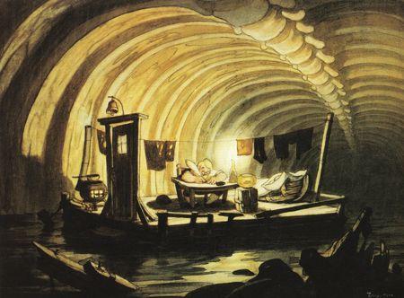 Gustaf Tenggren - Pinocchio 17