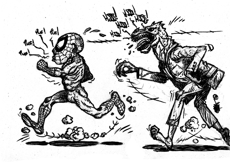Spider-&-Lizard-marathon