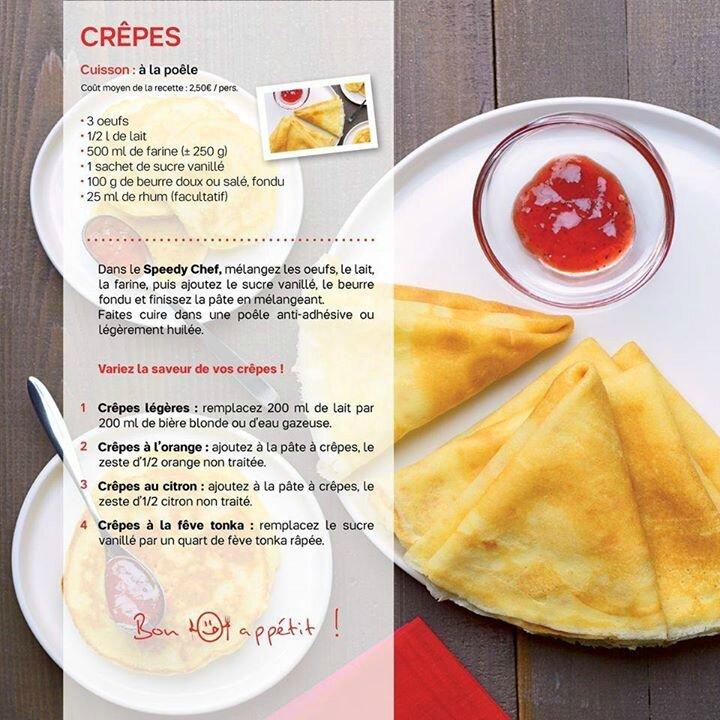 Cr pes les macarons la chartreuse - Recette crepe tupperware ...