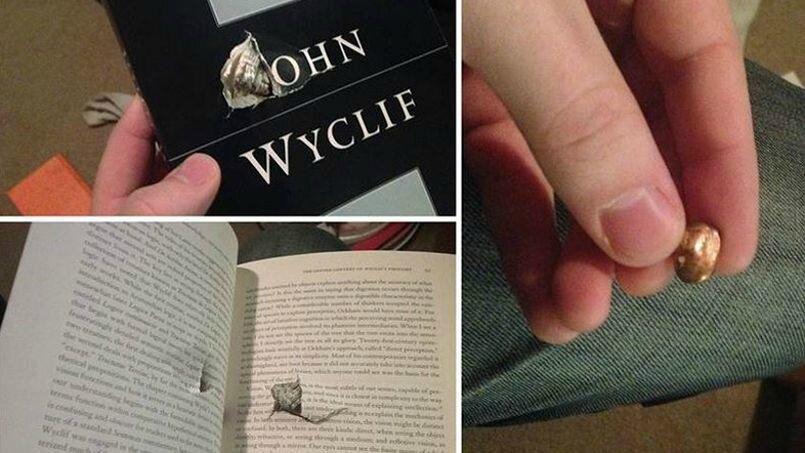 Un étudiant sauvé par ses livres lors d'une fusillade sur un campus