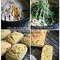 Safran, pavot et herbes pour un divin cornbread