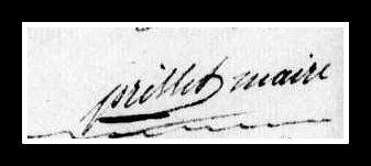 Signature Prisset Cirières