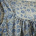 Robe liberty bleue t 2012