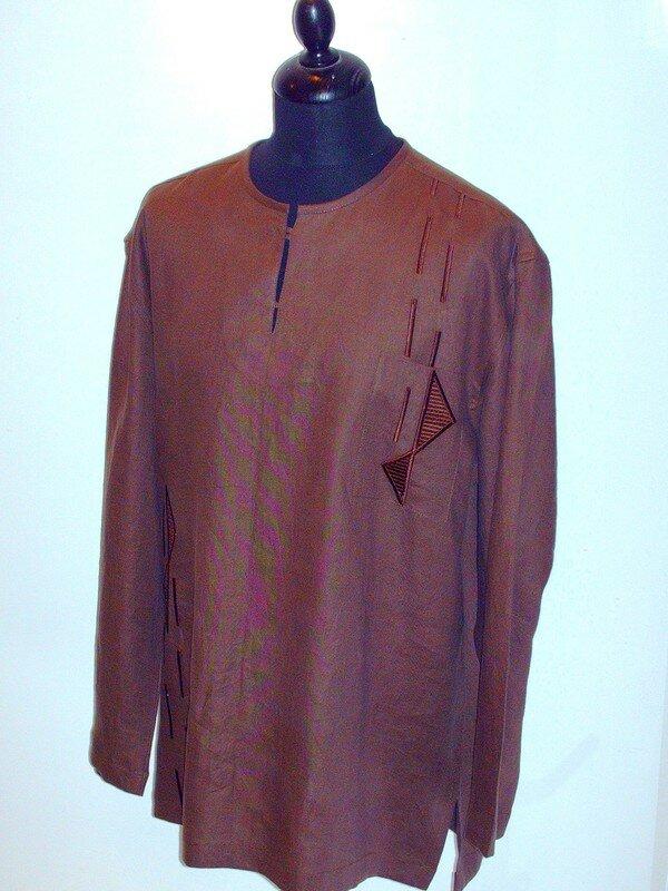 Bien connu Chemise homme Ch006 - Photo de Chemises homme caftan - Dou-Laye  ZT91