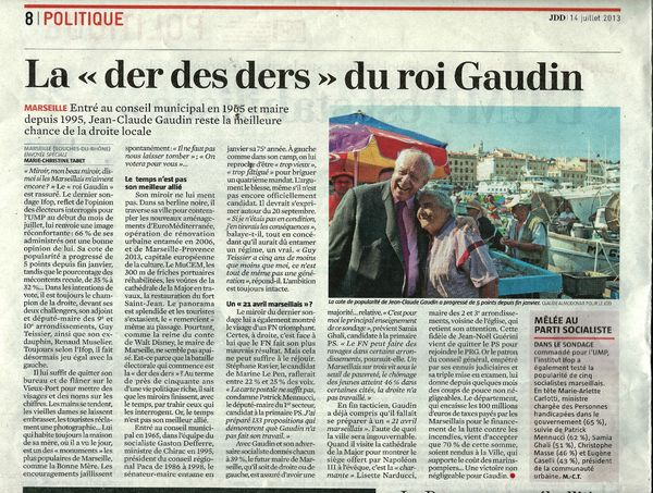 Gaudin JDD 14