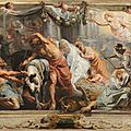 Exhibition featuring six panels by peter paul rubens on view at the museo del prado