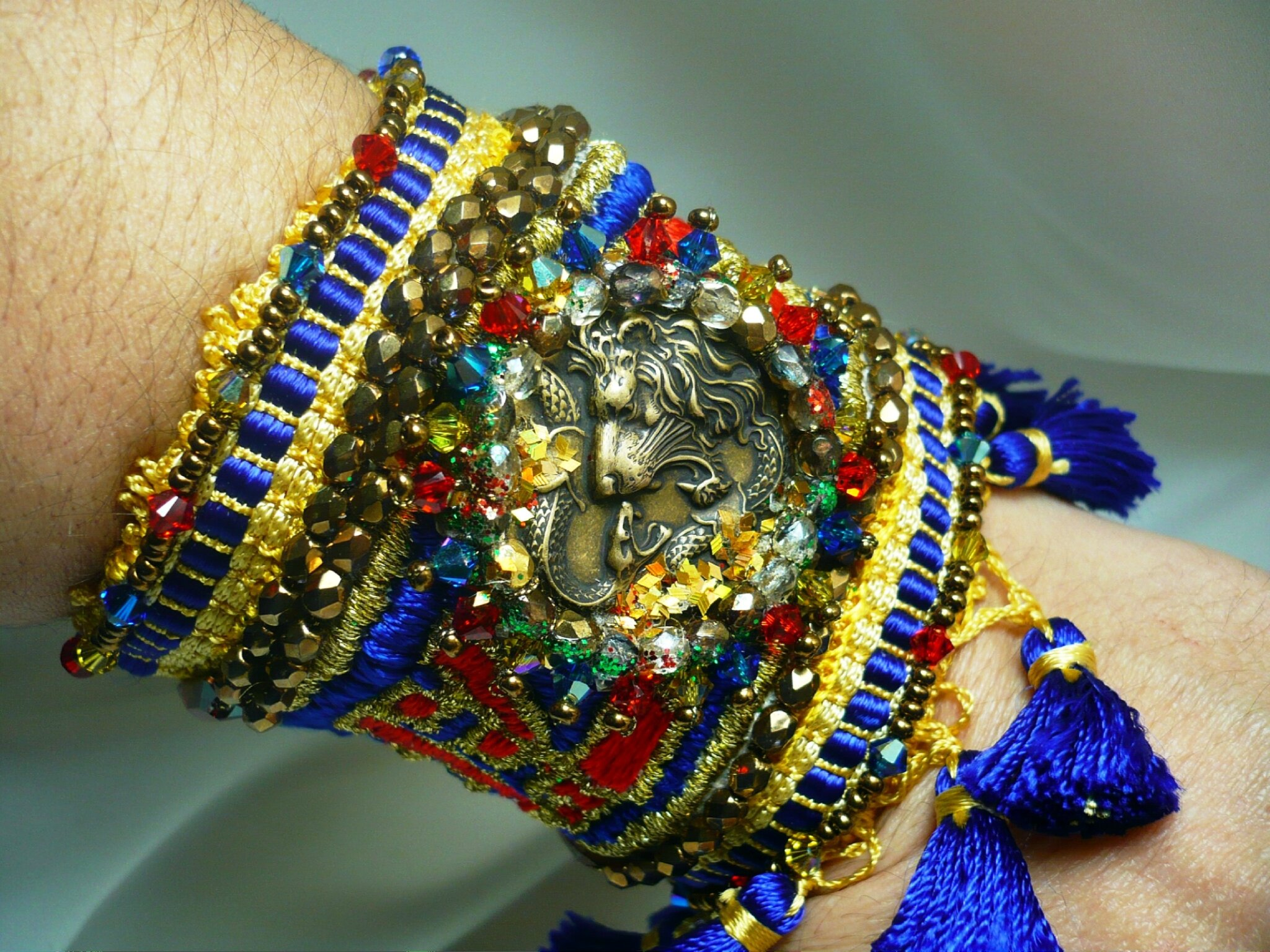 Bracelet souple °le colonial royal°