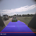 Use case of computer vision adas system (roadnex free space detection) : automatic predictive braking