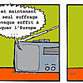 Georges et le vote europen