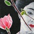 20x20 geisha au cerisier