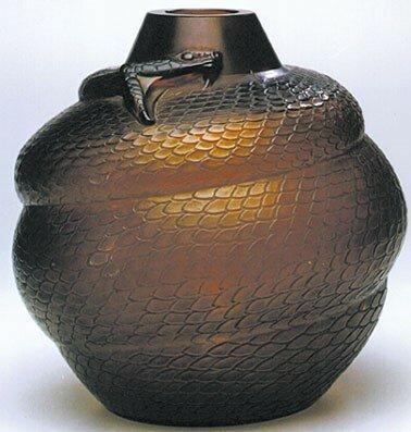 Vase - Serpent