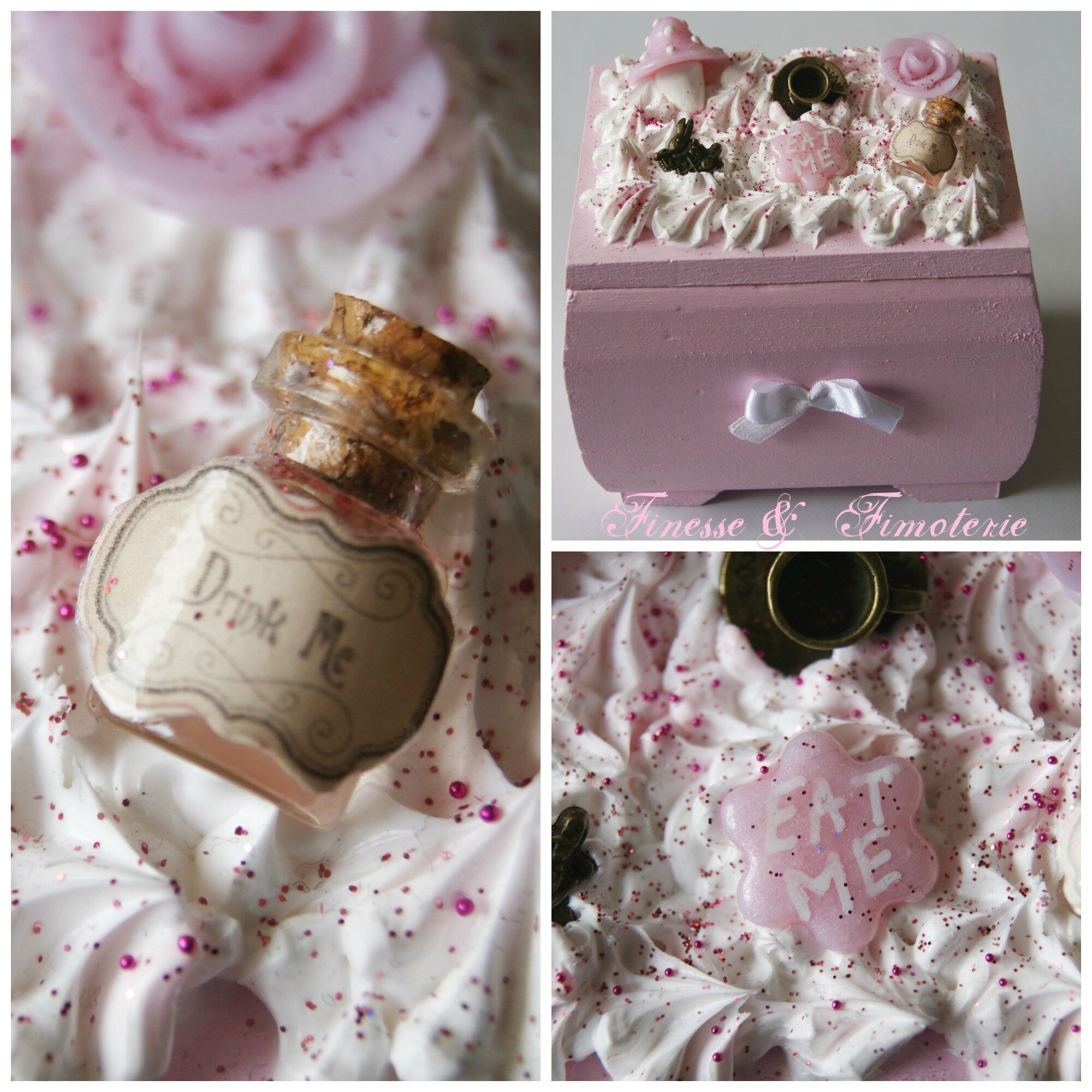 coffret Alice rose