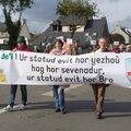 Les Bretons manifestent à Carhaix pour leurs langues