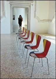 chaises mondrian