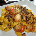 Papardelle aux st-jacques