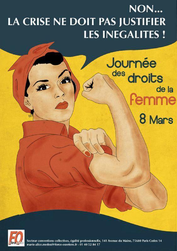 8 mars 2012 journ e des droits de la femme we can do it fo sant h pital des charpennes. Black Bedroom Furniture Sets. Home Design Ideas