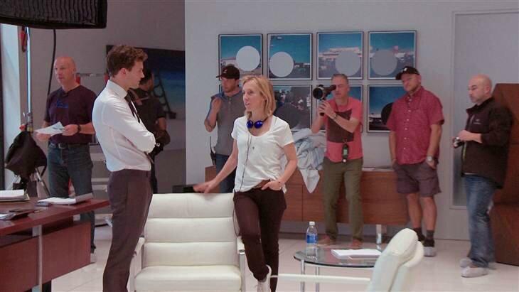 Interview de Dakota Johnson et Jamie Dornan sur M6