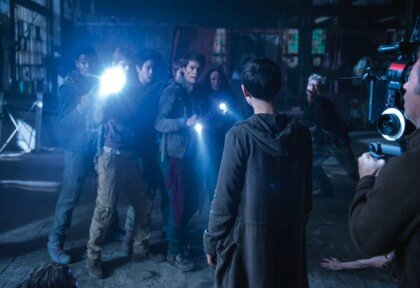 The Maze Runner Scorch Trials On The Set 04