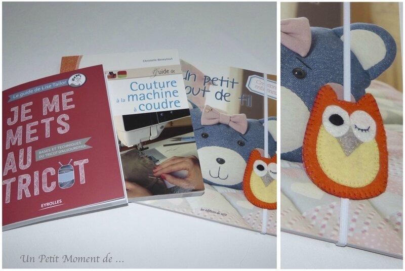 livres et marque-page