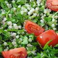 Taboulé fines herbes et sarrasin