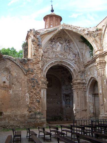 Monastère de Piedra-chapelle latérale