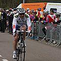 55 arrivée de Vincent Philippe Jura Cyclisme