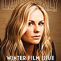 Anna paquin pour la weekly