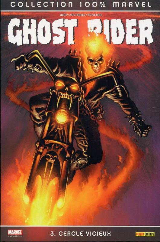 100% marvel ghost rider 3 cercle vicieux