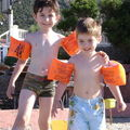 2008 - Nathan et Arnaud à la plage