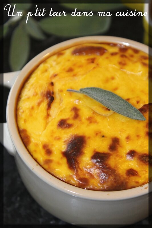 Flan courge butternut