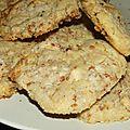 Cookies au chocolat blanc et pralin...