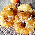 Beignets aux pommes cannelle