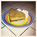 Gâteau façon crumble à la pomme et à la cannelle