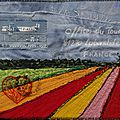 art postal voyage hollande filetpatch