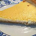 Tarte au citron au sirop d'agave