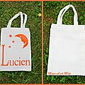 Lucien 's tote bag