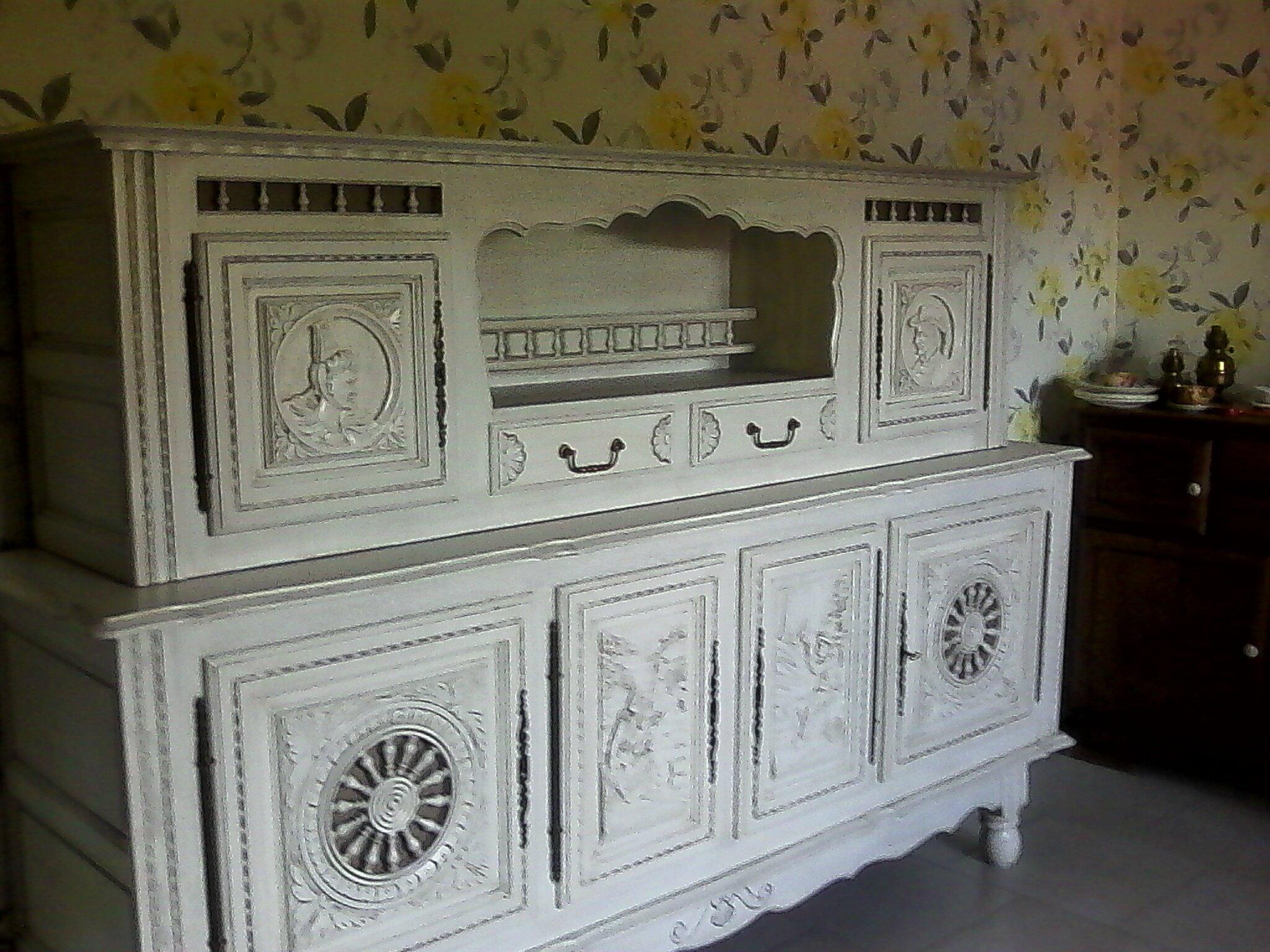 Buffet breton trop top relook meubles62 for Salle a manger bretonne
